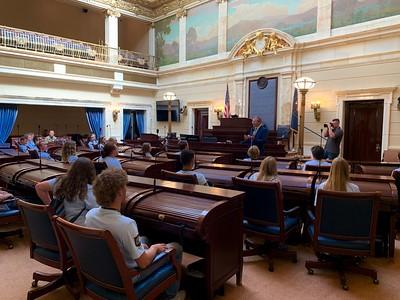 Freedom Academy, Utah National Air Guard Visit