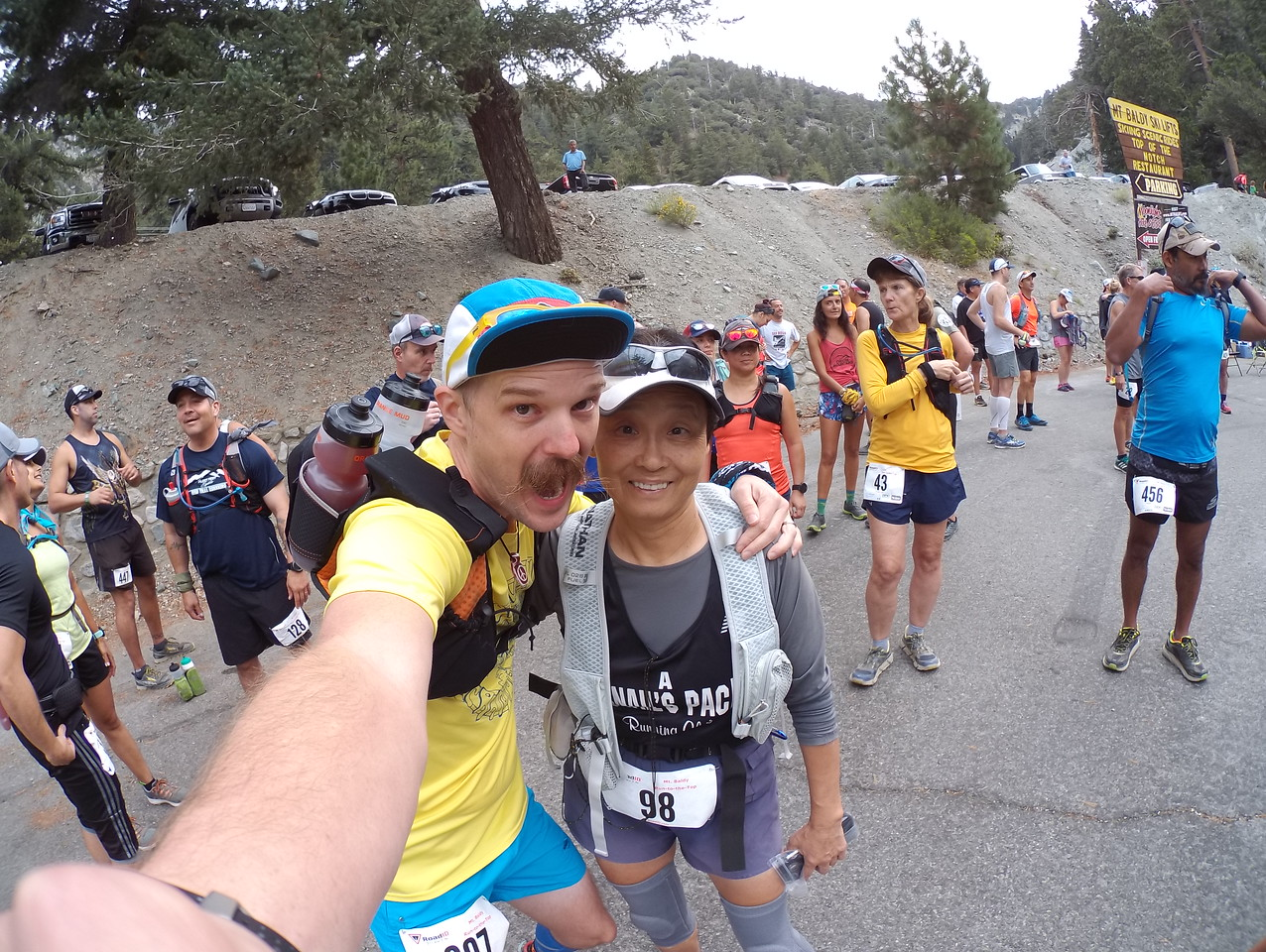 Mount Baldy Race to the Top 09-04-2017