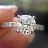 .81ct Old European Cut Diamond in Brian Gavin Setting 10
