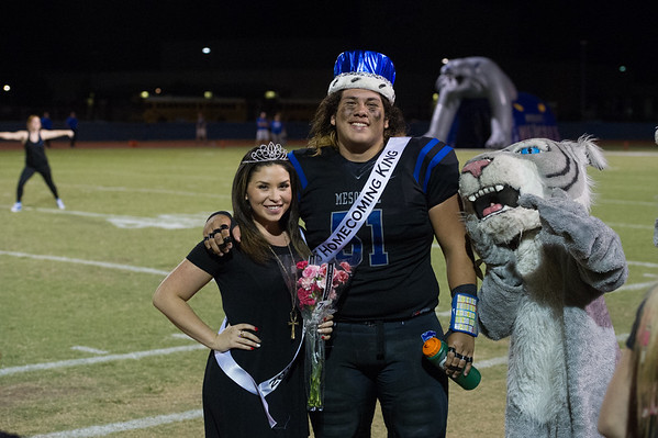 2015-10-02 MHS Royalty and Halftime Dance