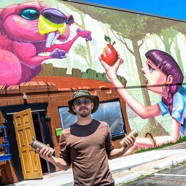 urban art colors