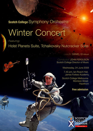 Scotch College Symphony Orchestra Concert 24/06/2009