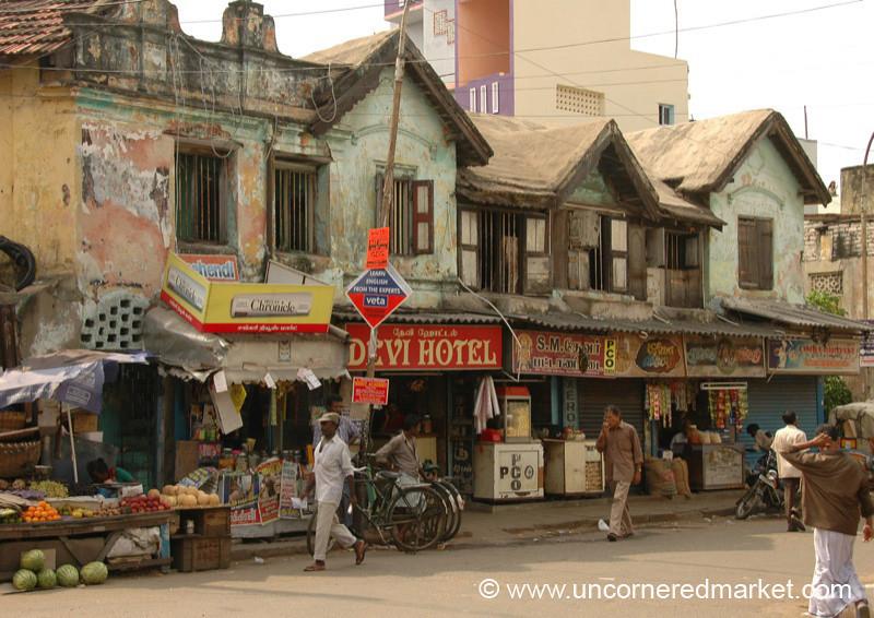 Street Scene in Chennai, India