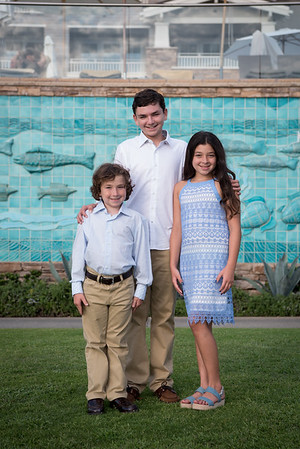 Family portraits at pre-Mitzvah