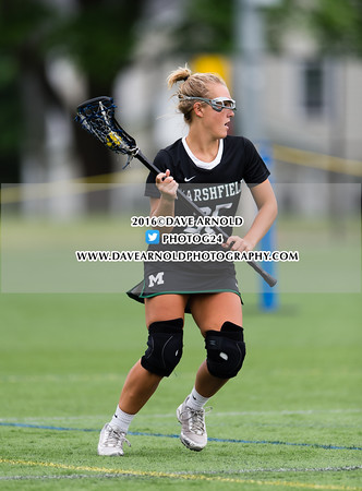 6/3/2016 - MIAA D1 South Quarterfinal - Girls Varsity Lacrosse - Marshfield vs Needham