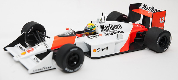 1988 #12 Ayrton Senna Mclaren Honda MP4/4 Race Livery SOLD 3/19/13