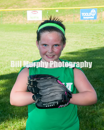2016 8-12 Softball  Green Team, June 9, 2016