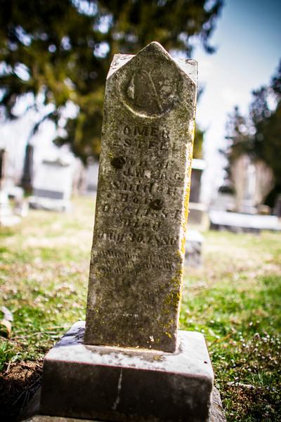 Salem Baptist Church cemetery-Shelbyville, Ky