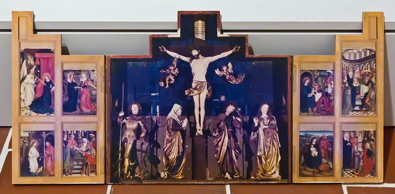 Nördlingen. St. Georg: Modell des ursprünglichen Hochaltars