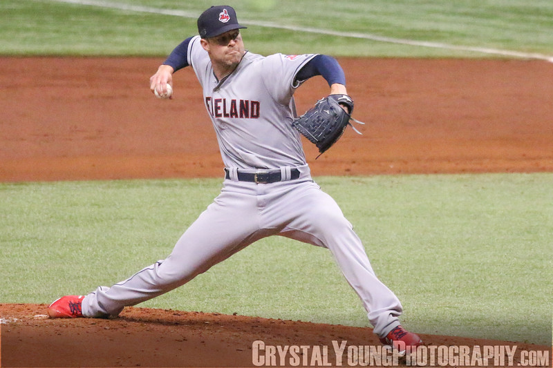 Cleveland Indians at Tampa Bay Rays Tropicana Field September 10, 2018
