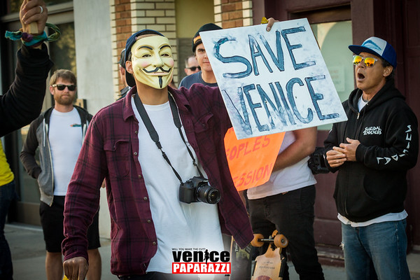 02.28.17 Snapchat protest in Venice, California