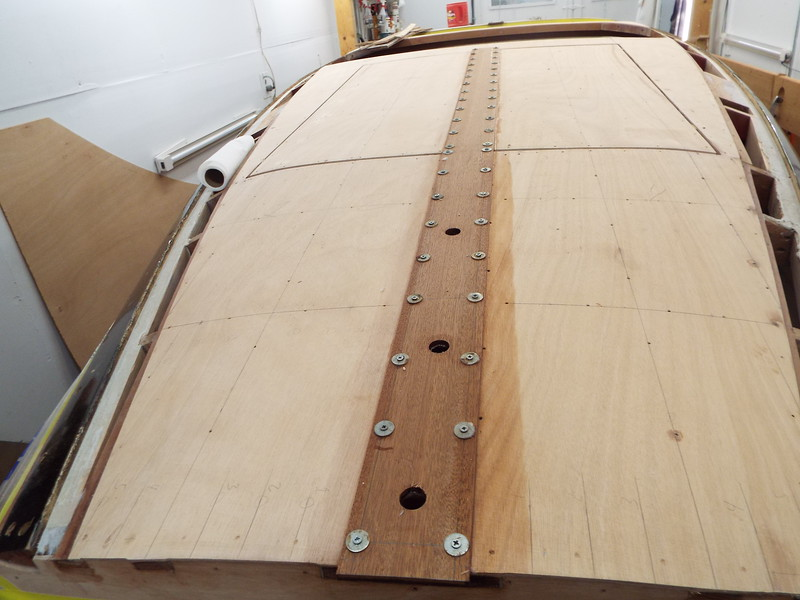 Rear king plank attached.