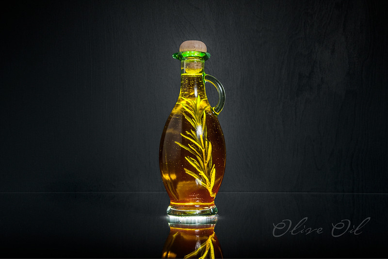 Olive Oil - Experiment in Glass