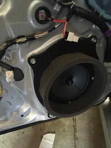 2013 Lexus GS350 Front Door Speaker Installation - USA