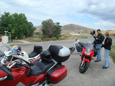 Labor day weekend ride up the Poudre