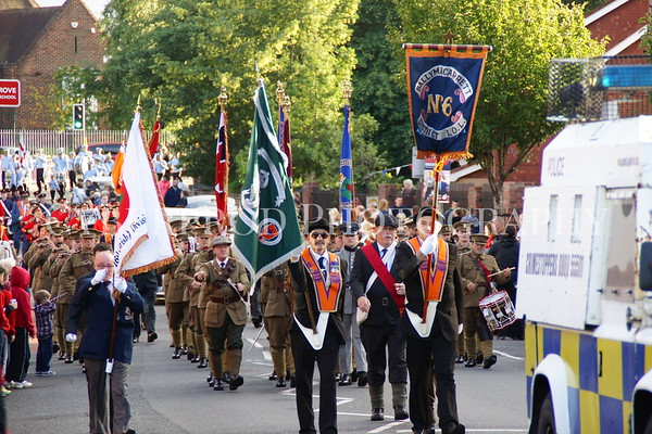 Somme Anniversary Parade
