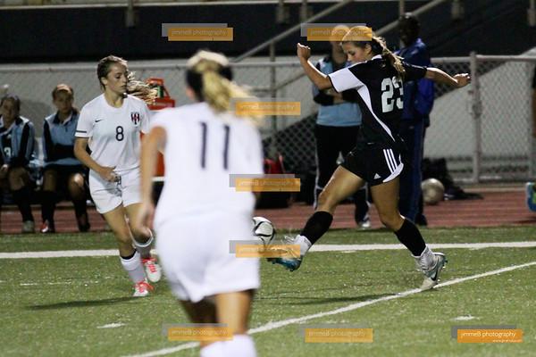 Seneca Valley Girls Soccer vs North Hills 2012