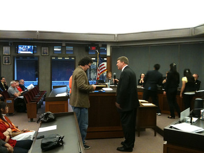 DSA at the Concord City Council Meeting - March 2010