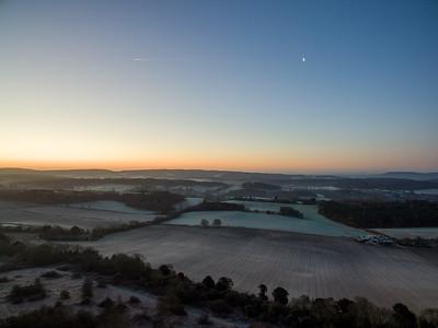 20200119 - Sunrise at Newlands Corner