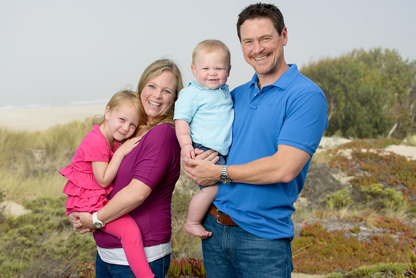 The Sandlunds and Family (Family Photography) @ Pajaro Dune, Watsonville