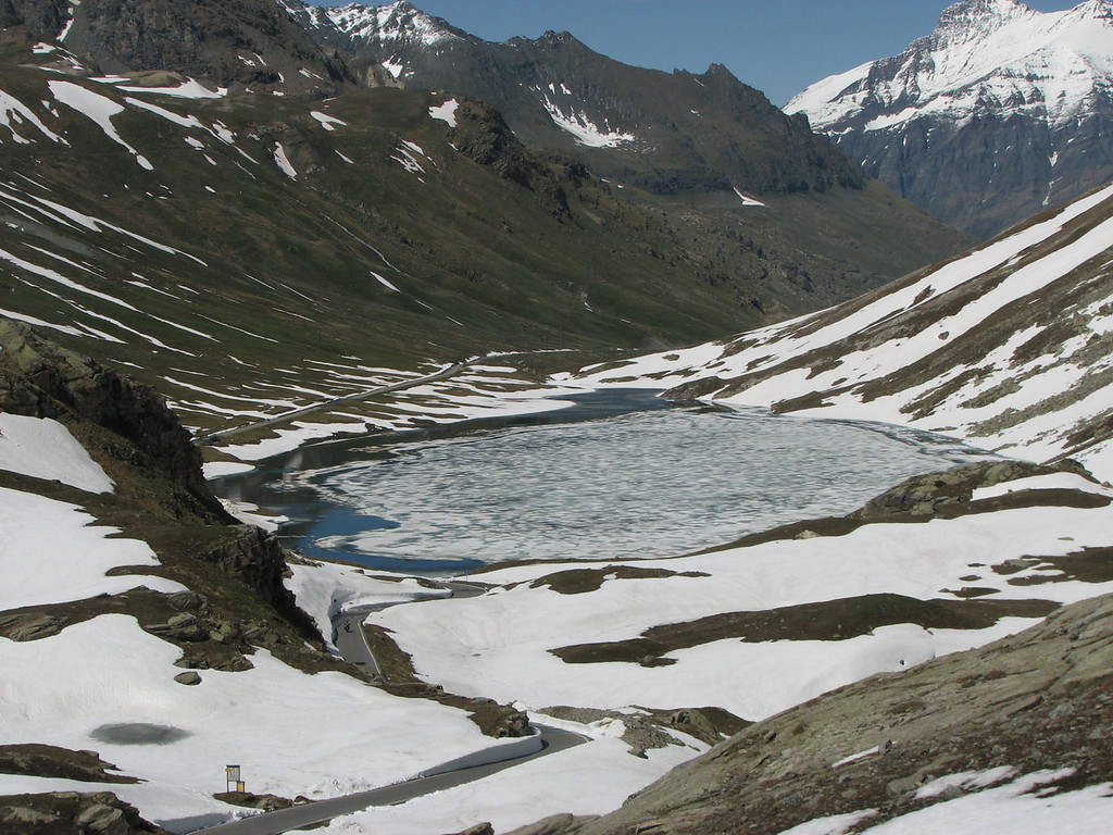 Passo Nivolet. Doodlopend op Parco Nazionale Gran Paradiso; indrukwekkend