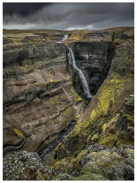 Little Waterfall   Photography by Wayne Heim