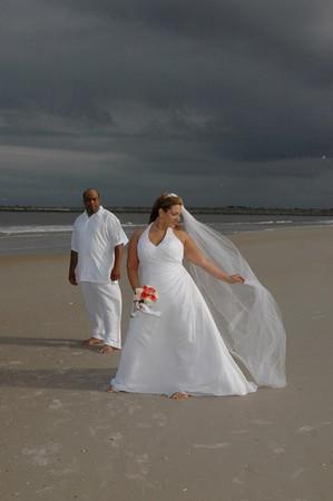 Isabel and Eric Wedding.Vilano Beach,St.Augustine,Fl.