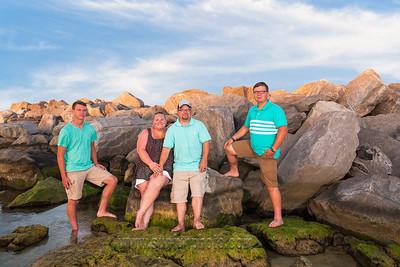 The Birge Family Sunset Photography on Panama City Beach
