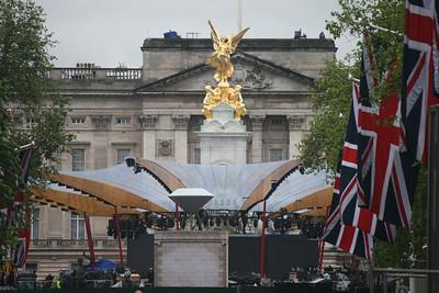 Diamond Jubilee - around London (June 2012)