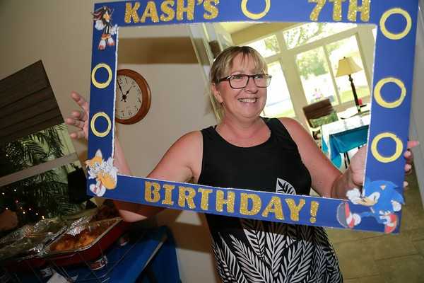 Kash's 7th Birthday july 2019