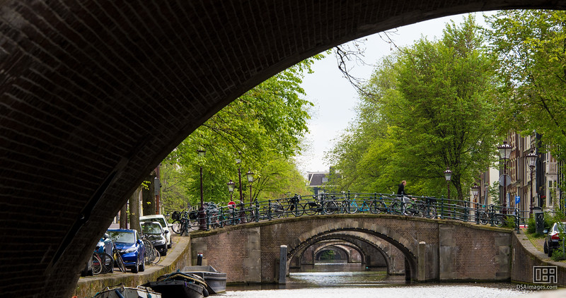 Seven bridges of Amsterdam (Reguliersgracht)