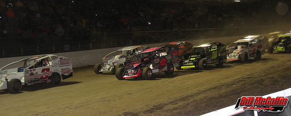 DIRTcar 358 Modified Series Salute the Troops 100-Bill McGaffin-10/9/16