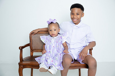 Karson and Khari - Spring Pictures