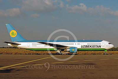 Uzbekistan Airline Boeing 767 Airliner Pictures