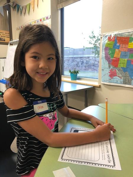 Chloe | 3rd grade | Reed Elementary