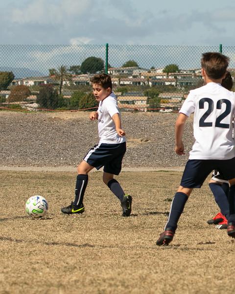 Harper and Dylan Soccer Games