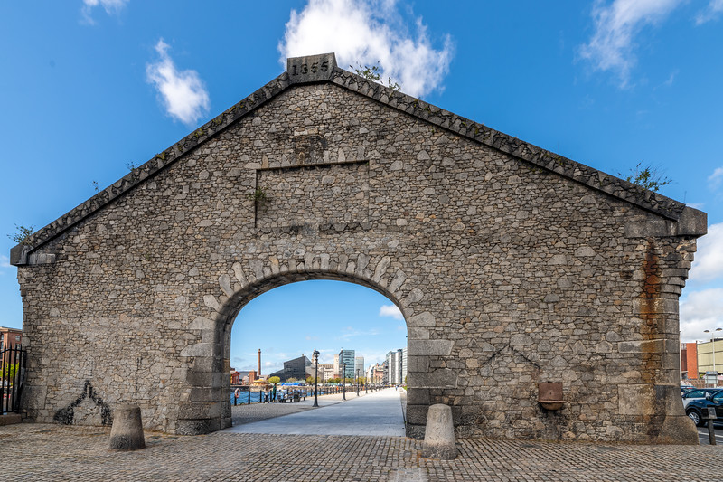 Salthouse Dock Arch, Liverpool