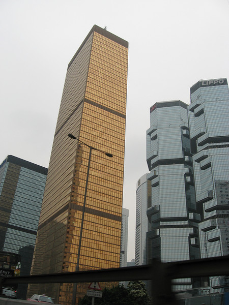 Hong Kong highrise buildings