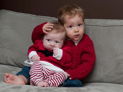 The Cain's Christmas Photos 2010
