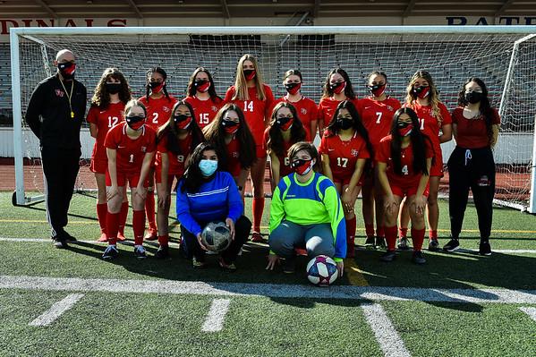 Varsity/JV Girls Soccer  3-22-2021