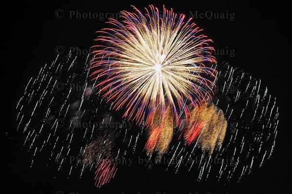 Lititz Fireworks 2011