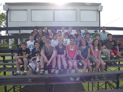 jr high track team . 5.11.12