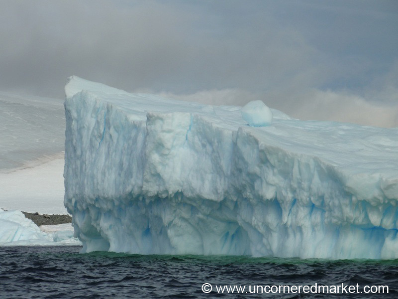 Massive Iceberg - Prospect Point, Antarctica