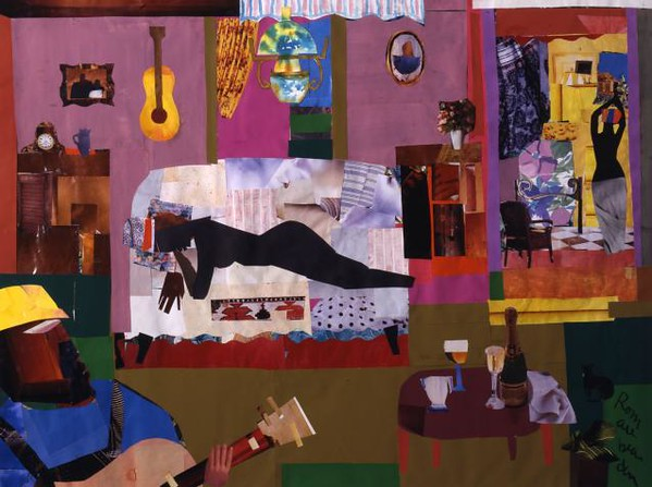 "Romare Bearden, ""Black Venus,"" 1968"
