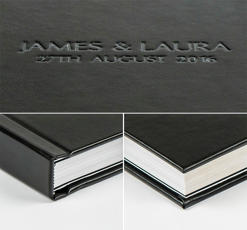 leatherette cover