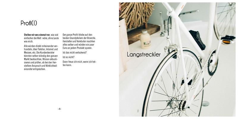 Bernd Gausmann ist leidenschaftlicher Radler. Da Prägt auch seine Art zu arbeiten.
