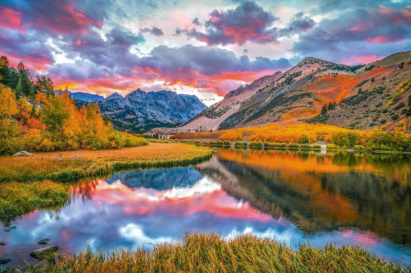 Autumn's Archetype: North Lake Bishop Creek: Elliot McGucken Fine Art Landscape Nature Photography