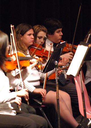 2-16-06 North Farmington High School & Dunckle 8th Grade Orchestras in Concert