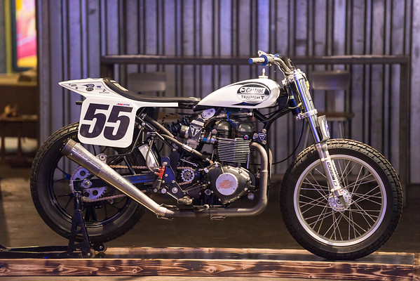 2017.01.03 Triumph Motorcycles at 78th St. Studios smARTspace