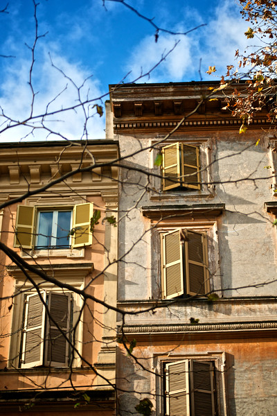Apartment Buildings - Rome, Italy